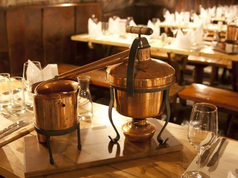 Tischbrennkessel - Ginbrennen mit Retter Events