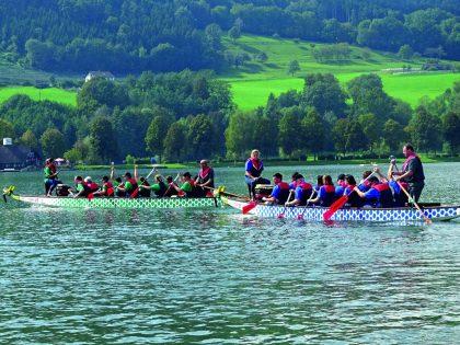 Drachenbootrennen Teamevent mit RETTER EVENTS