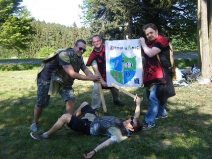 Wappen gestalten - Ritterspiele mit RETTER EVENTS