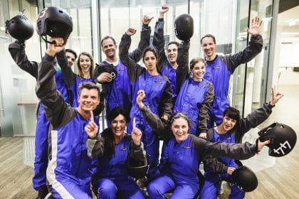 indoor Skydiving mit RETTER EVENTS