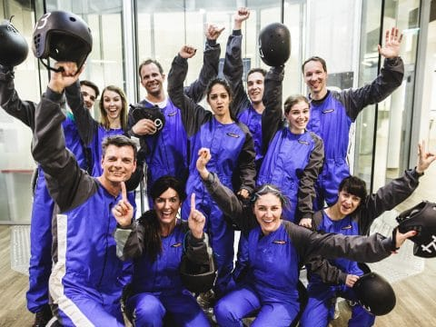 indoor Skydiving mit RETTER EVENTS