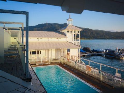 Werzer's Hotel Resort Pörtschach Pool für RETTER EVENTS