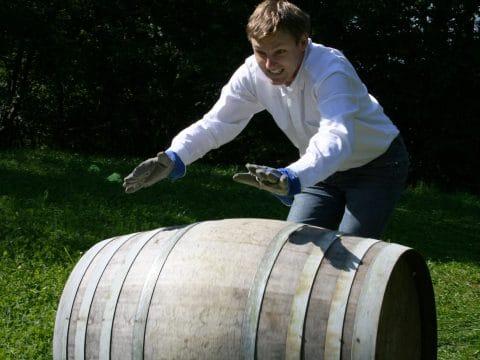 Winzer Olympiade - Weinfassrollen mit RETTER EVENTS