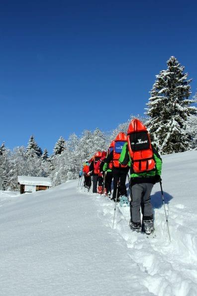 Schneewanderung RETTER EVENTS