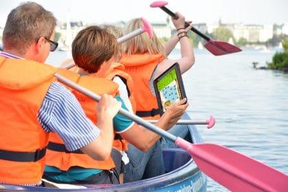 Kanu Tateamevent-kanu-tablet-rallye-retter-events-am-seeblet Rallye am Wörtheresee