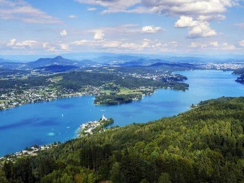 Wörthersee in Kärnten