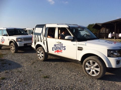 Landrover Descovery von RETTER EVENTS
