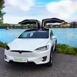 Tesla Auto von E-Car Rent