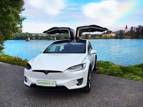 Tesla Auto von E-Car Rent