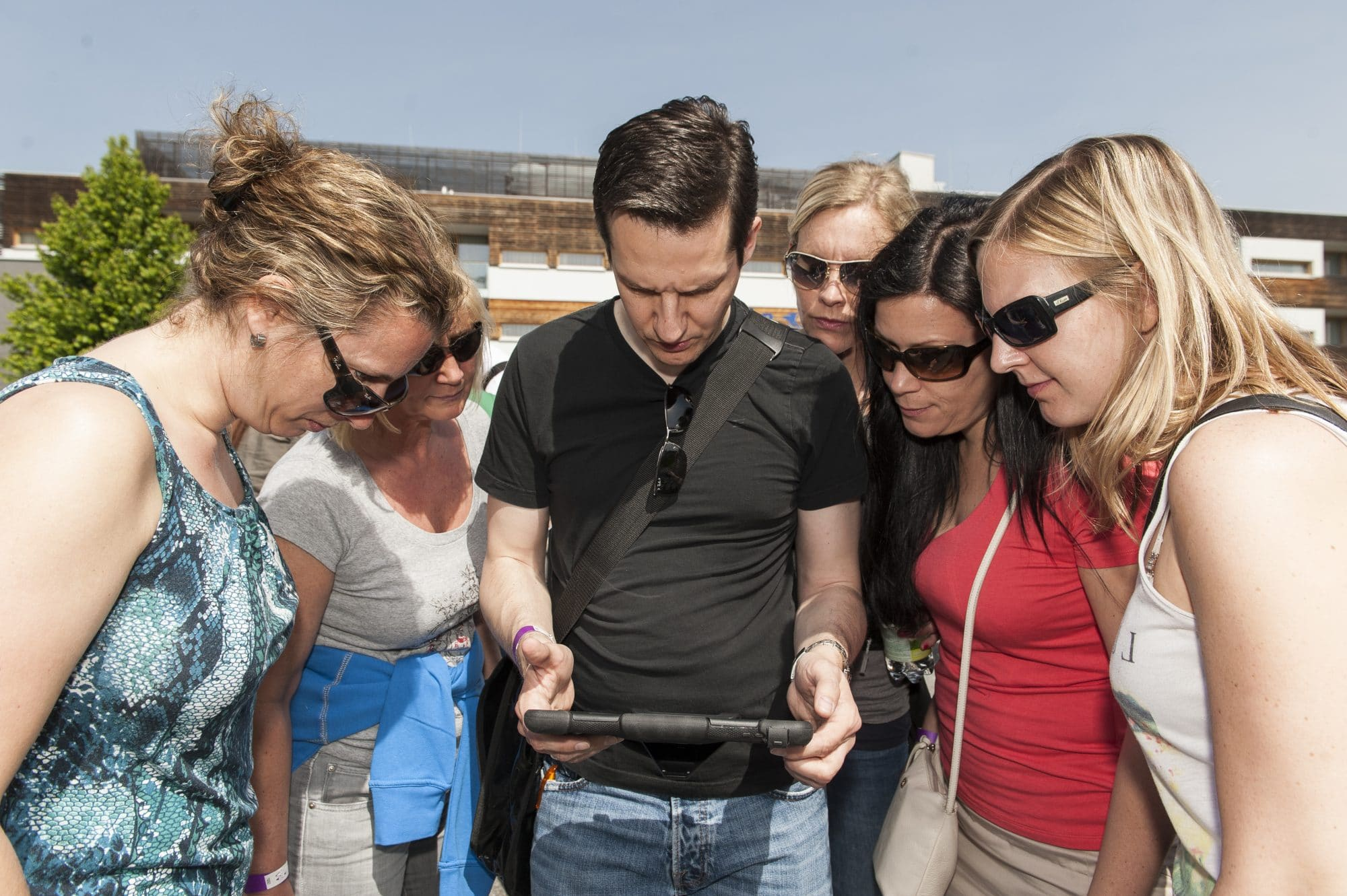 Tablet Rallye mit RETTER EVENTS