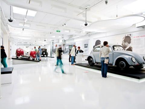 Erlebniswelt Porsche mit Autoausstellung