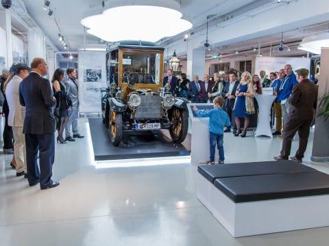Fahrzeugpräsentation im Fahrtraum Museum Mattsee