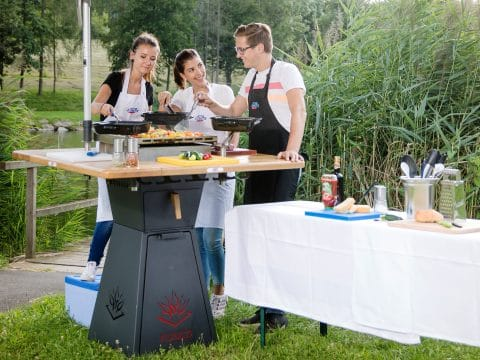 Outdoor Kochevent mit RETTER EVENTS