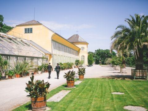 Orangerie Eisenstadt mit Schlossgarten