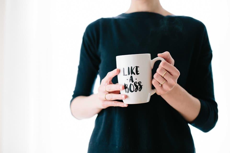 Kaffeetasse vom Chef
