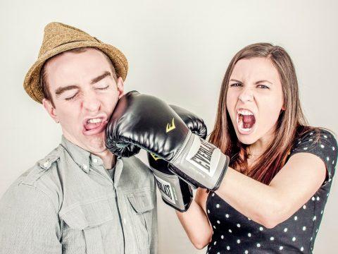 Boxkampf zwischen Talenten