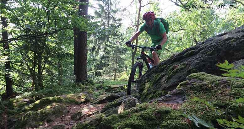Mountainbike fahren mit RETTER EVENTS