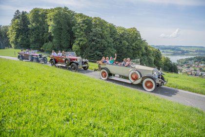 Oldtimer Ausfahrt mit RETTER EVENTS