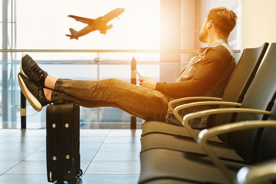 Ankunft am Flughafen mit RETTER EVENTS