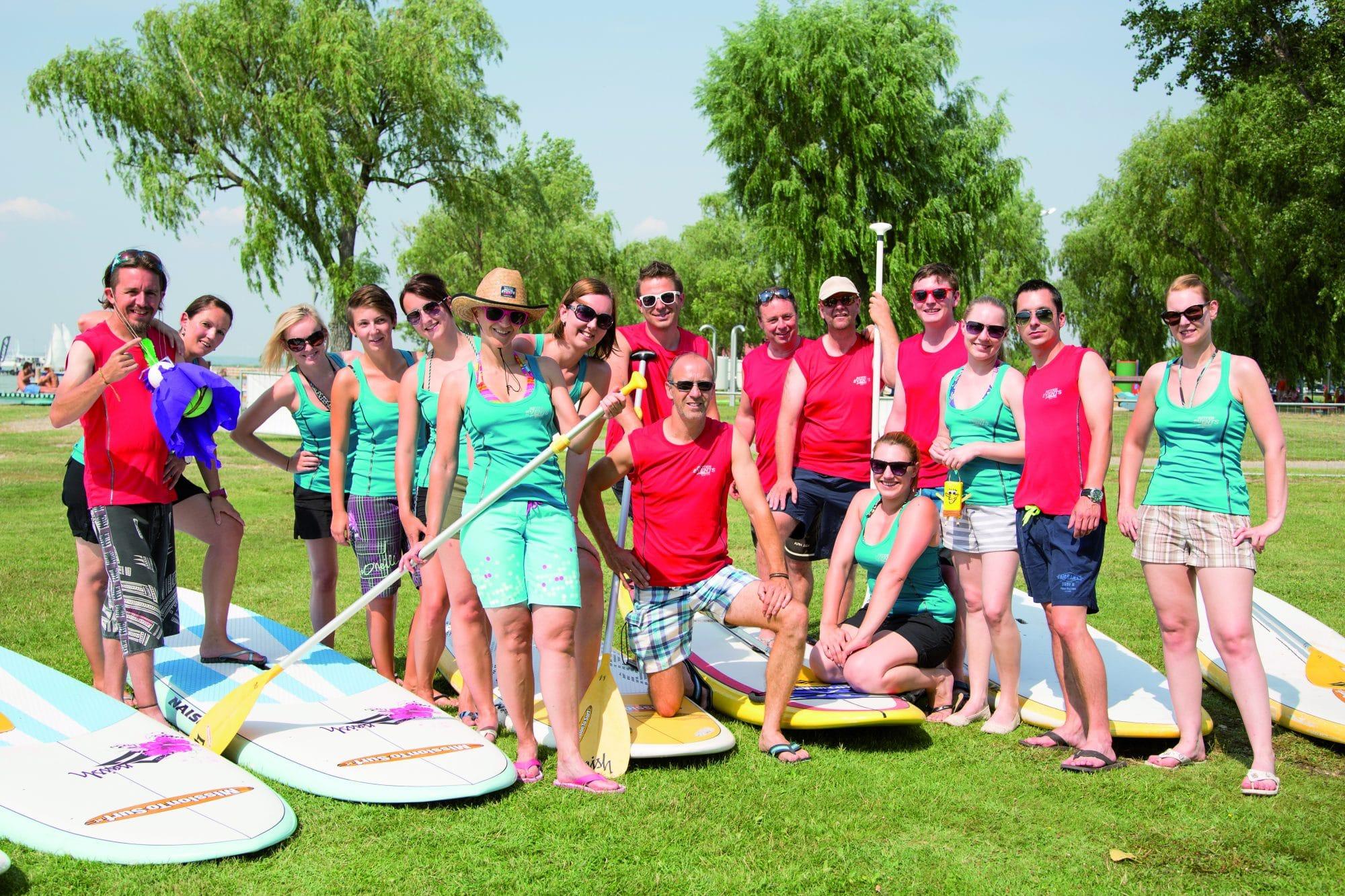 Teamtag im Sommer mit RETTER EVENTS