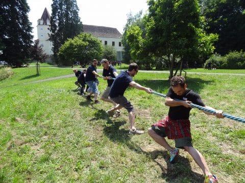 Highland Games - Seilziehen mit RETTER EVENTS