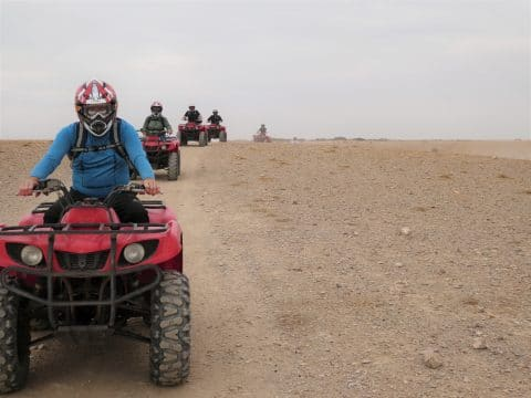 Incentive Trip Marokko: Quad fahren in der Wüste mit RETTER EVENTS