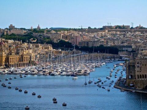 Malta - Valletta Marina