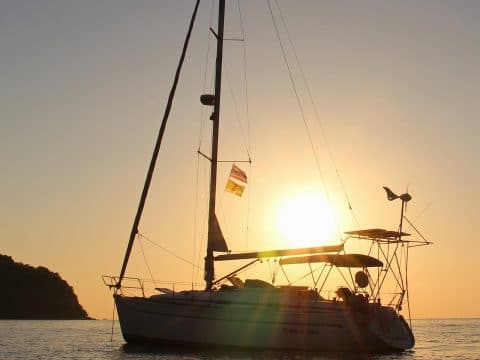 Sailing towards the sunset with RETTER EVENTS