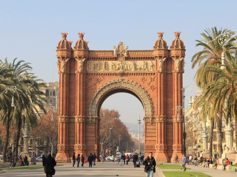 Barcelona Arc de Triomf with RETTER EVENTS