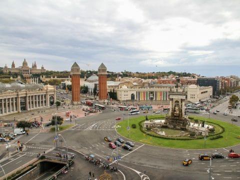 Placa d'Espanya in Barcelona mit RETTER EVENTS