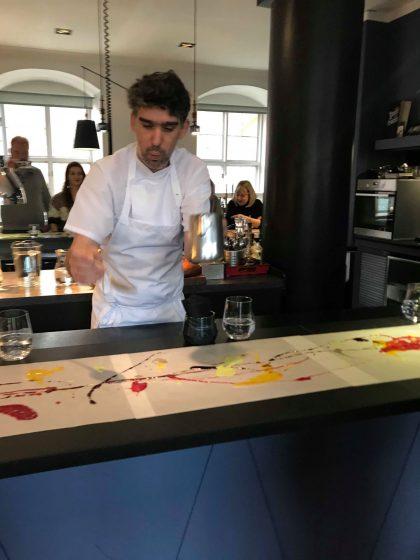 Koch kreiert Kunstwerke - RETTER EVENTS Incentive