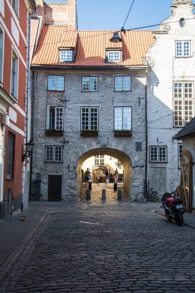 Menschenleere Gassen Riga - RETTER EVENTS_Pixabay