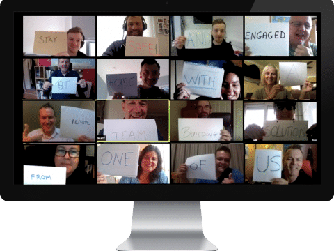 Virtual Team Day - Video Conference with the Team