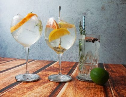 Gin Tonic - selbst kreiert mit RETTER EVENTS