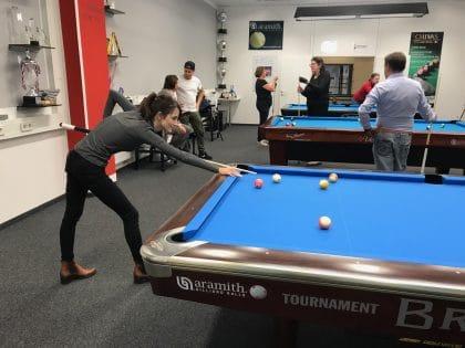 Incentive mit der Billiard-Weltmeisterin und RETTER EVENTS