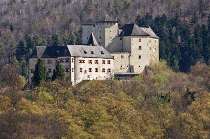 Burg Lockenhaus nahe Geschriebenstein