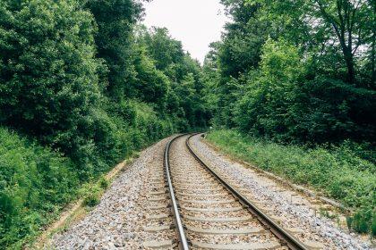 Gleise für Draisinentour