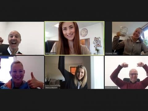 Videocall-virtuelles Meeting