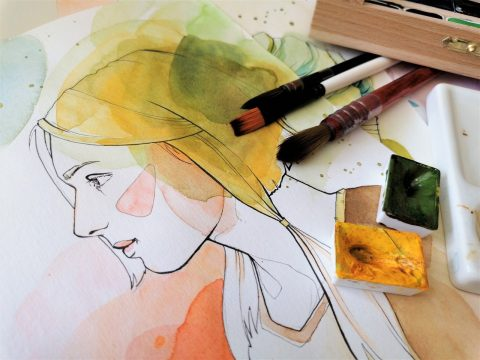 aquarell-zeichnung